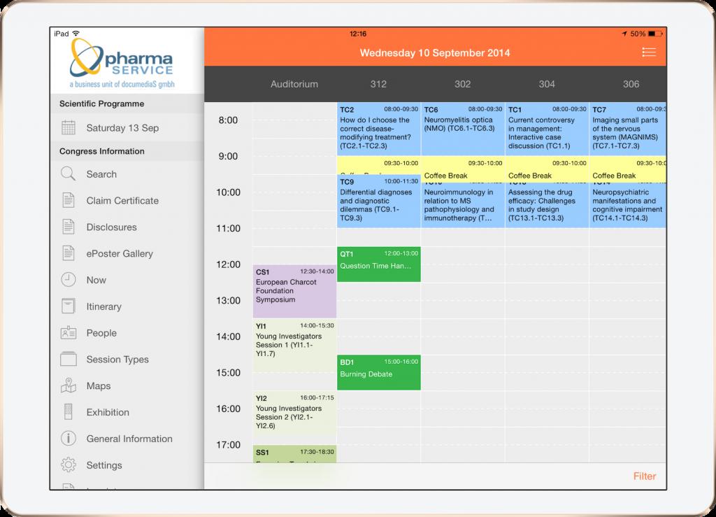 Konferenz App conference app